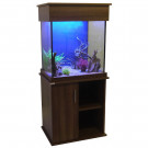 "Amazon 24"" Grey Bardolino Aquarium & Cabinet"