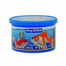 King British Goldfish Sinking Pellets 140g