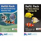 NT Brine Shrimp Hatcher Kit Refill Pack