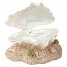 Air Action Clam - Medium Aquarium Ornament
